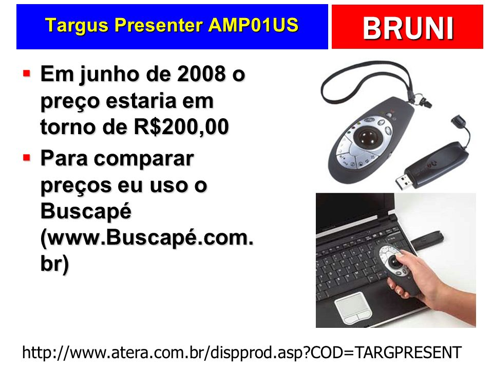 Targus Presenter AMP01US