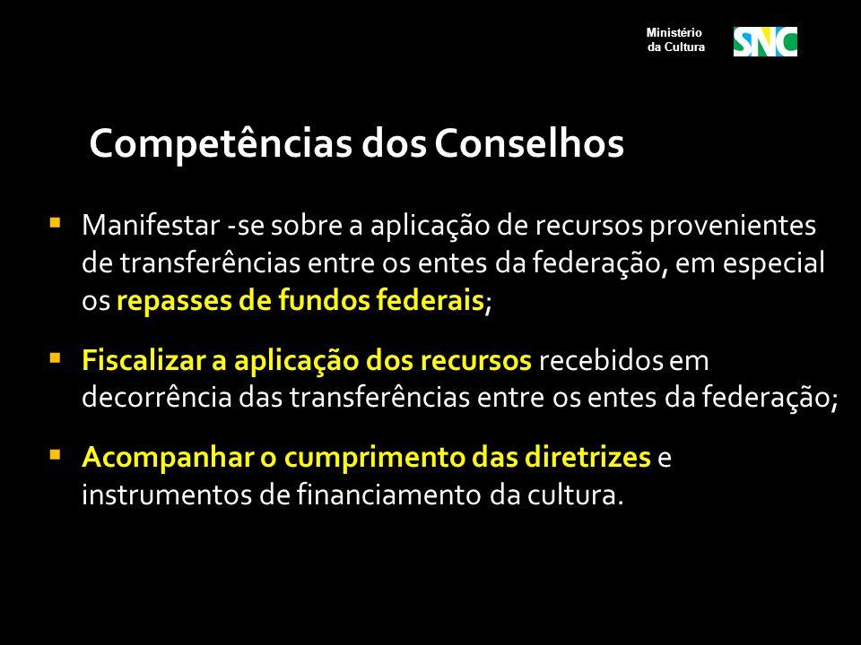 Competências dos Conselhos