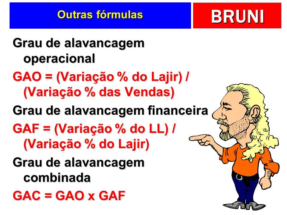 Outras fórmulas