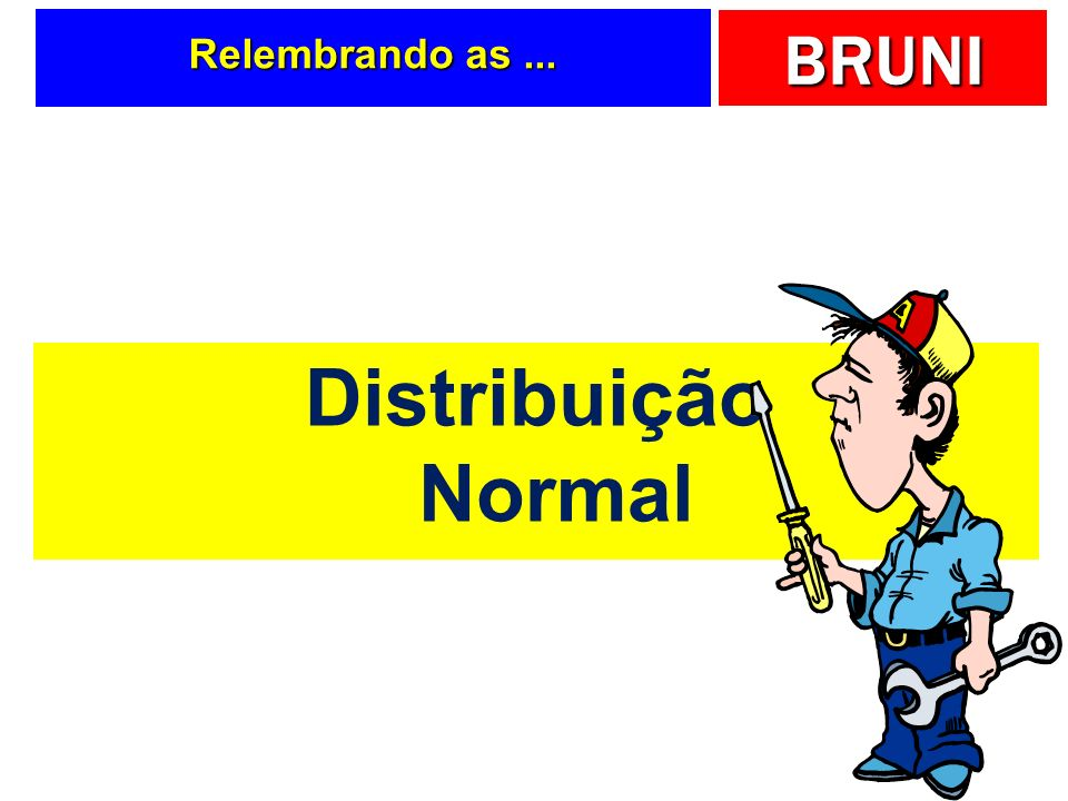 Relembrando as ... Distribuição Normal