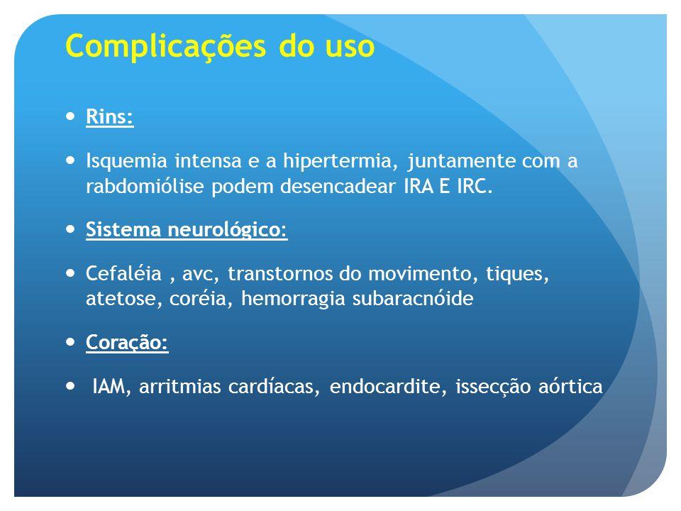 Complicações do uso Rins:
