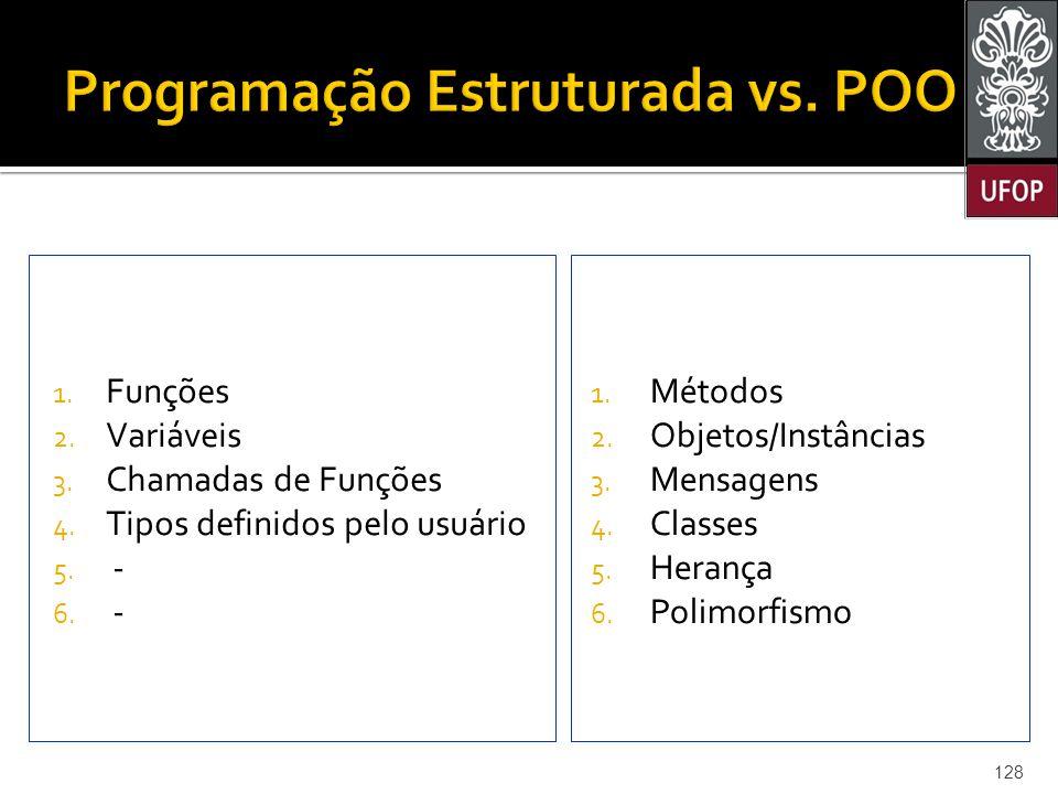 Programação Estruturada vs. POO