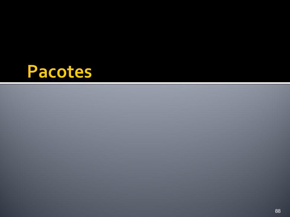Pacotes