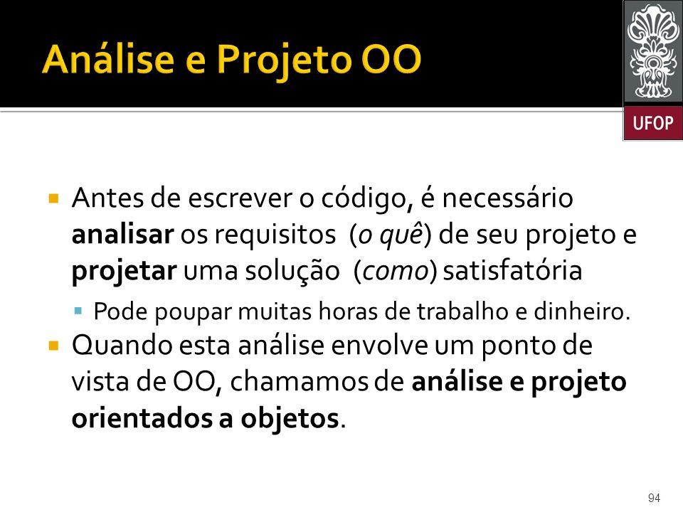 Análise e Projeto OO