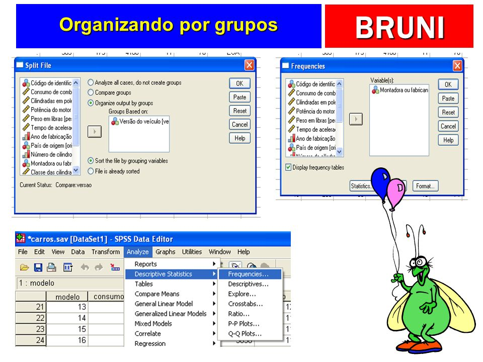 Organizando por grupos