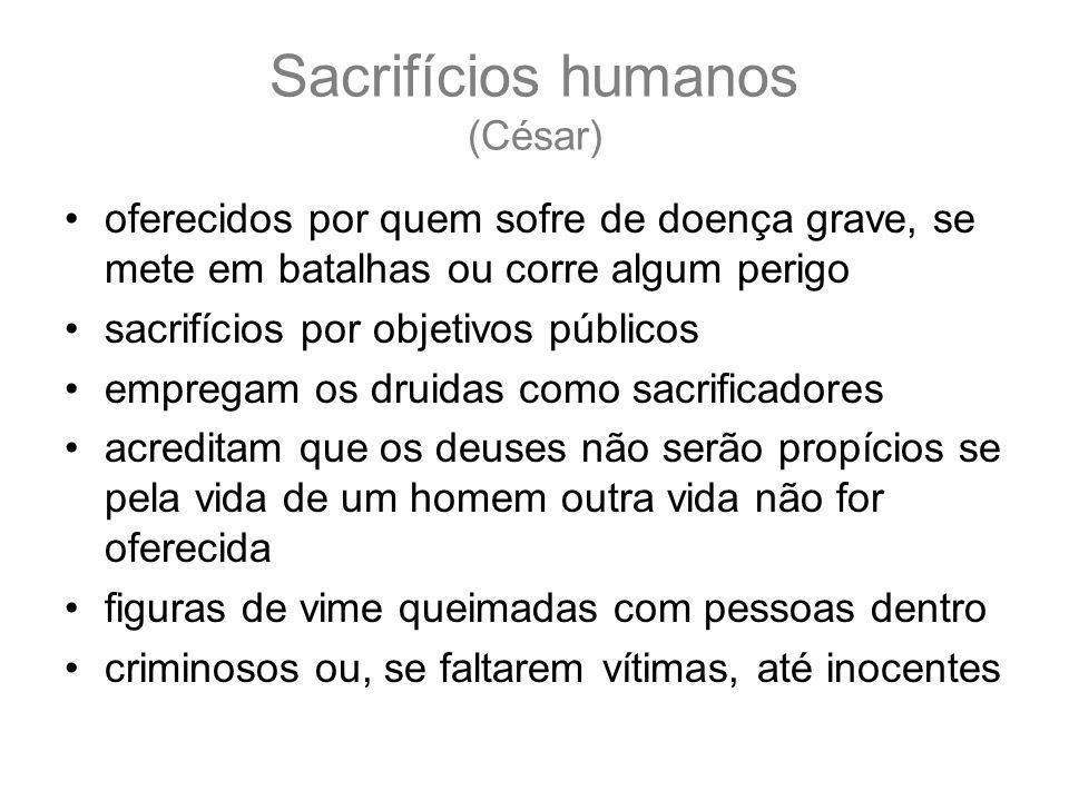 Sacrifícios humanos (César)