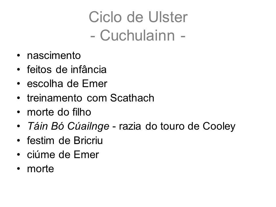 Ciclo de Ulster - Cuchulainn -