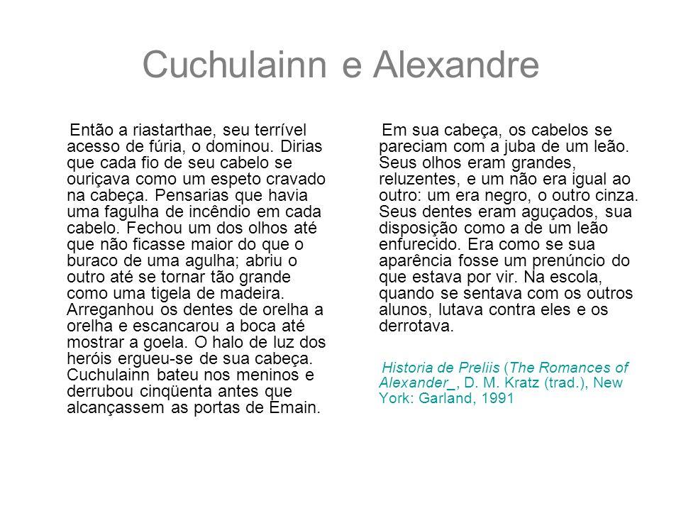 Cuchulainn e Alexandre