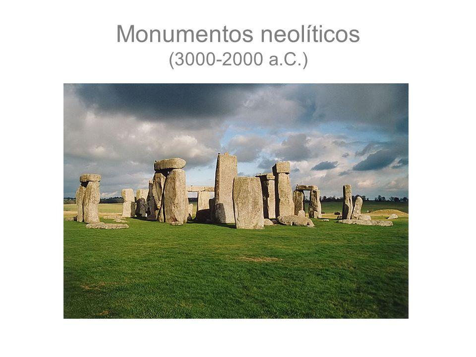 Monumentos neolíticos (3000-2000 a.C.)
