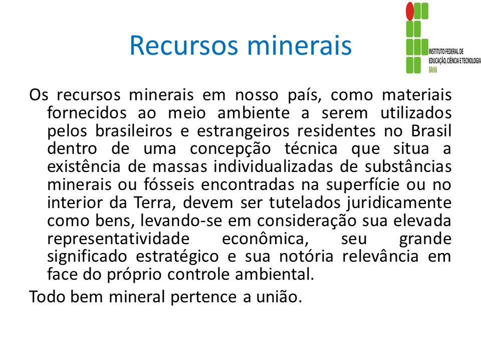 Recursos minerais