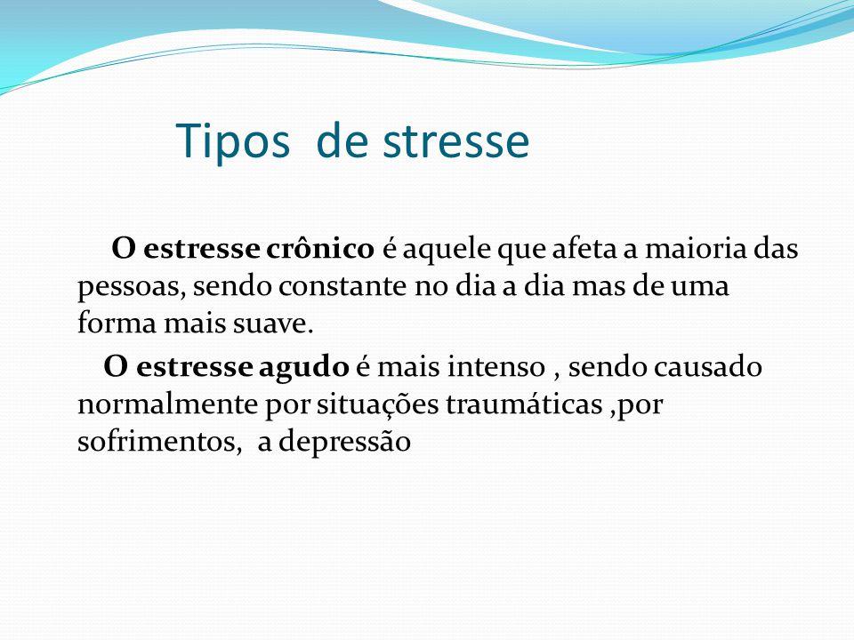 Tipos de stresse