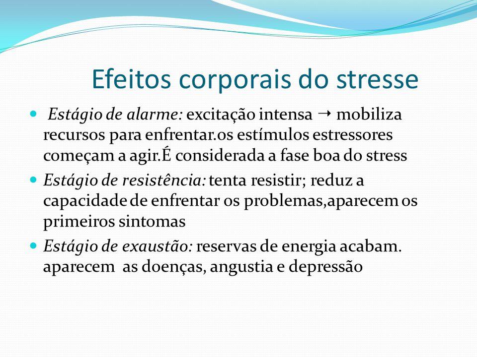 Efeitos corporais do stresse