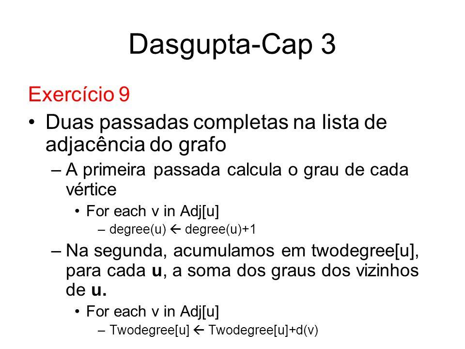 Dasgupta-Cap 3 Exercício 9