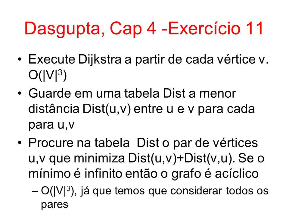 Dasgupta, Cap 4 -Exercício 11