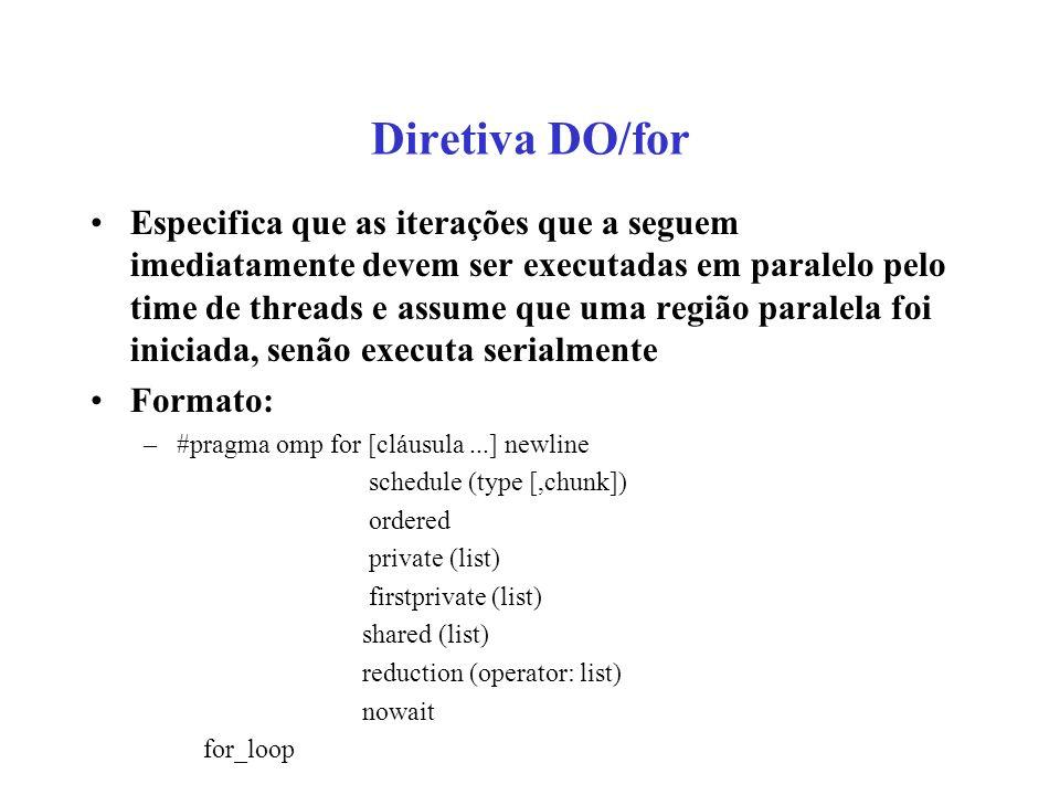 Diretiva DO/for