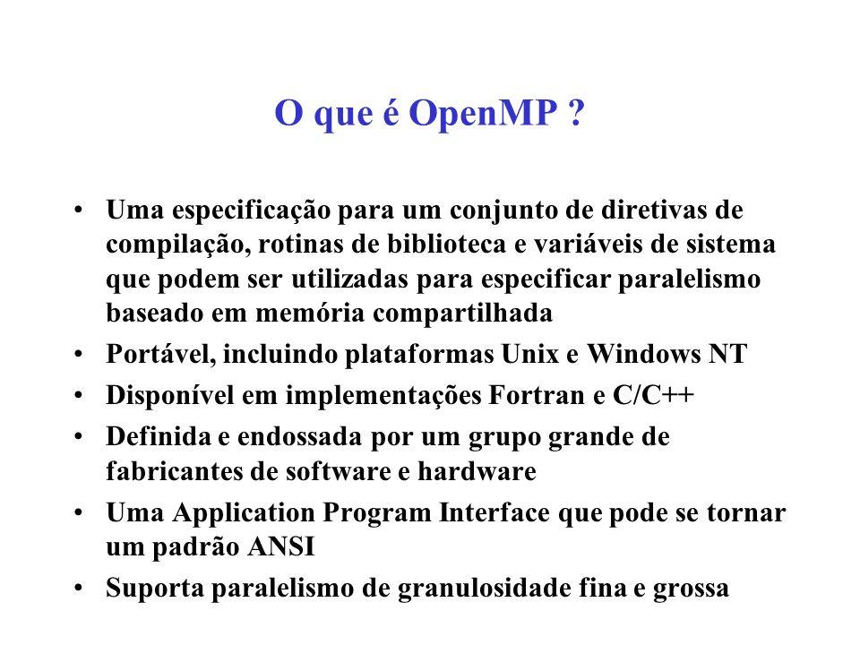 O que é OpenMP