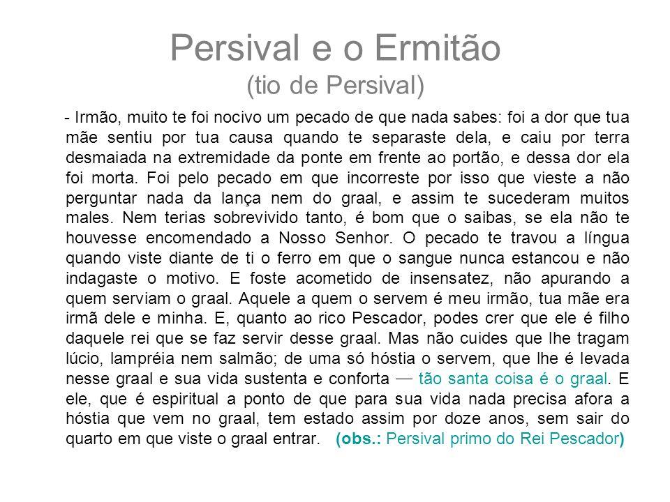Persival e o Ermitão (tio de Persival)