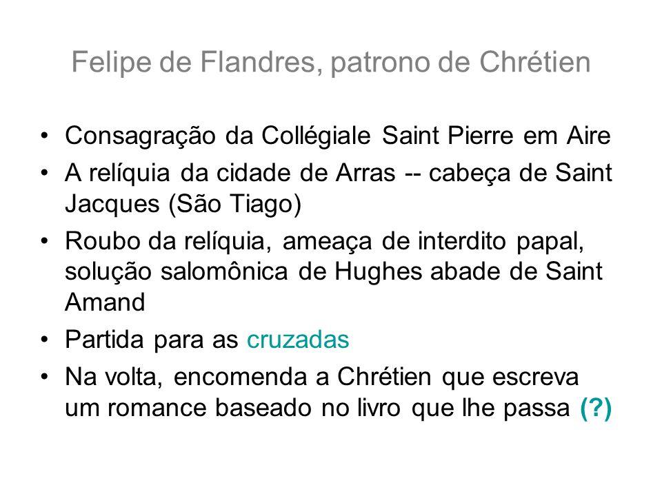 Felipe de Flandres, patrono de Chrétien