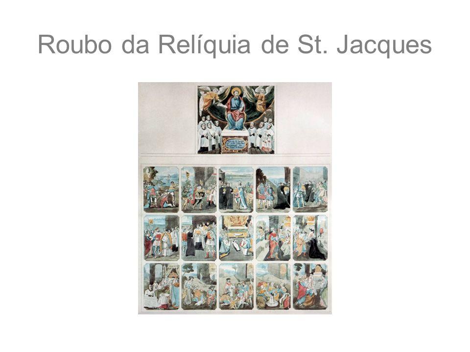 Roubo da Relíquia de St. Jacques