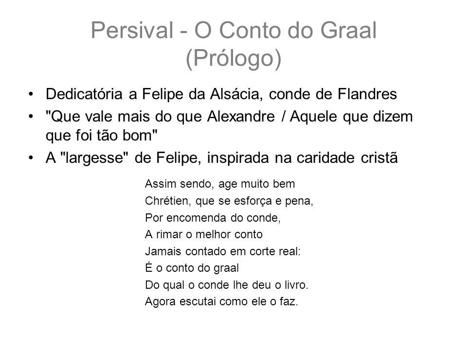 Persival - O Conto do Graal (Prólogo)