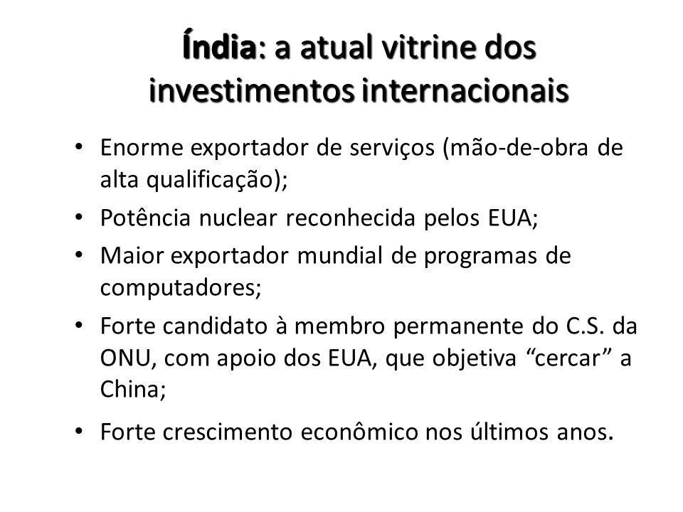 Índia: a atual vitrine dos investimentos internacionais