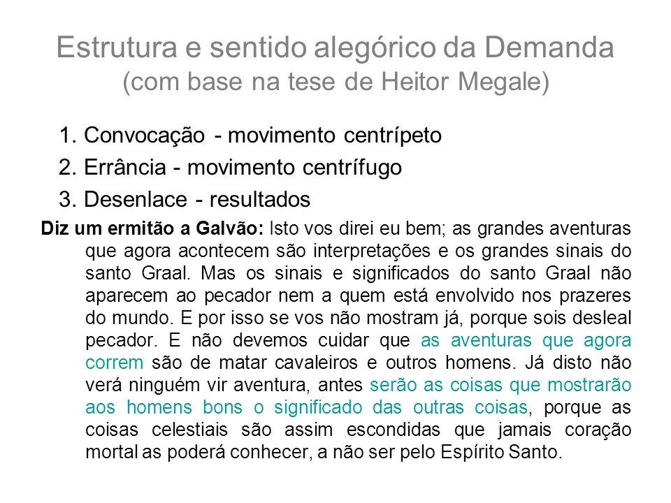 Estrutura e sentido alegórico da Demanda (com base na tese de Heitor Megale)