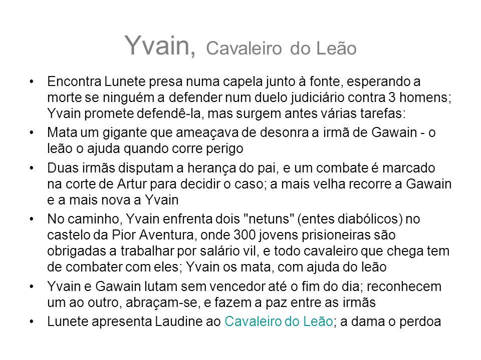 Yvain, Cavaleiro do Leão