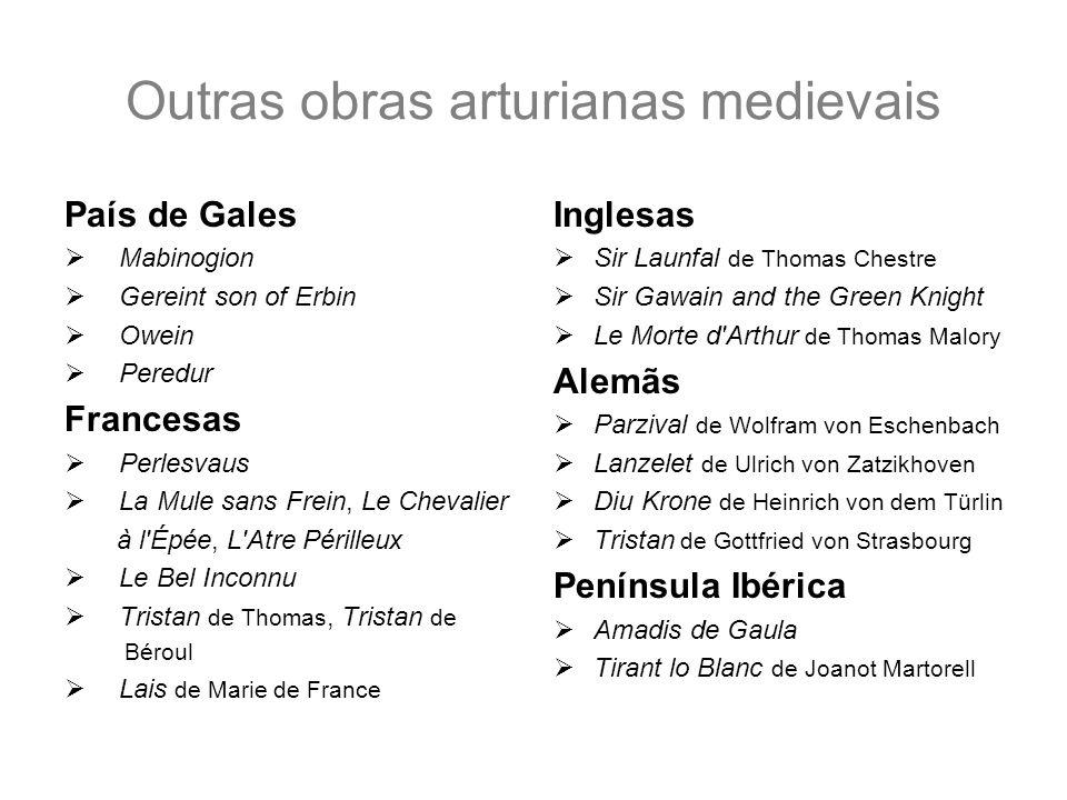 Outras obras arturianas medievais