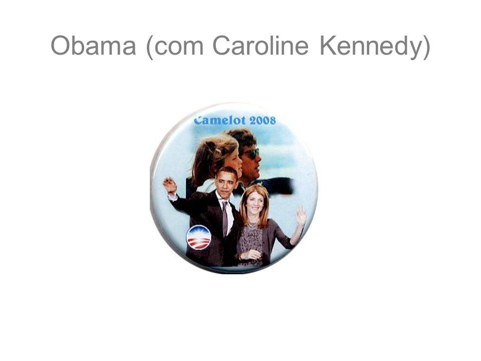 Obama (com Caroline Kennedy)
