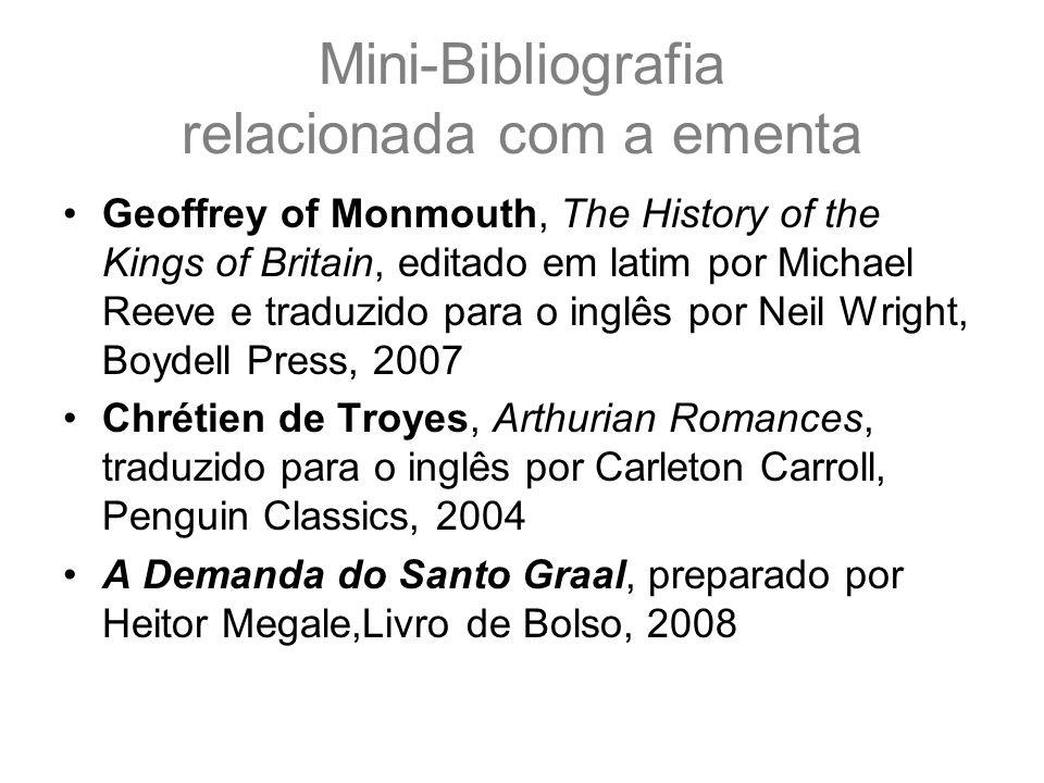 Mini-Bibliografia relacionada com a ementa