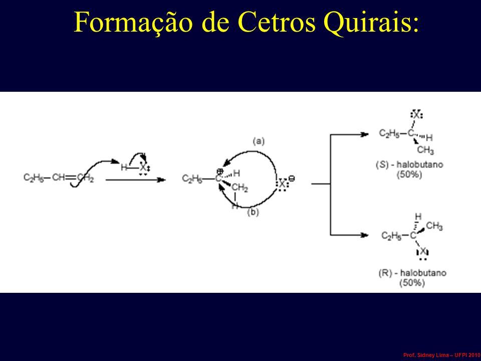 Formação de Cetros Quirais: