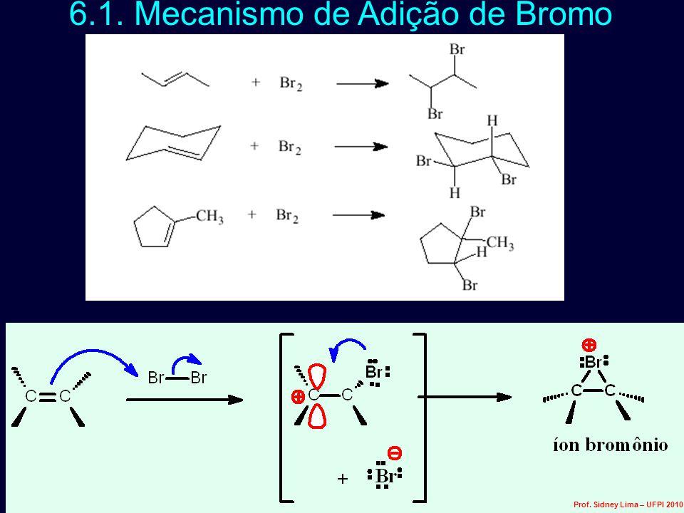 6.1. Mecanismo de Adição de Bromo