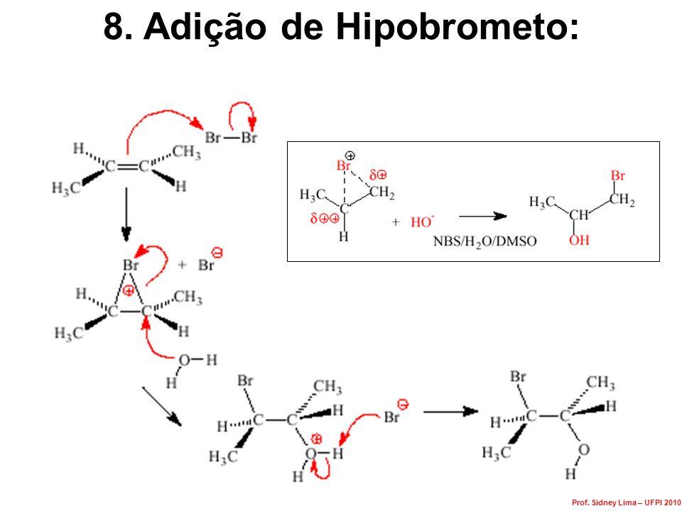 8. Adição de Hipobrometo: