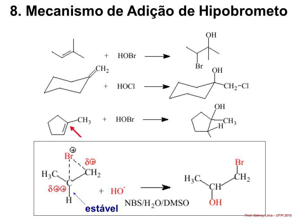 8. Mecanismo de Adição de Hipobrometo