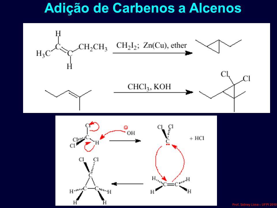 Adição de Carbenos a Alcenos