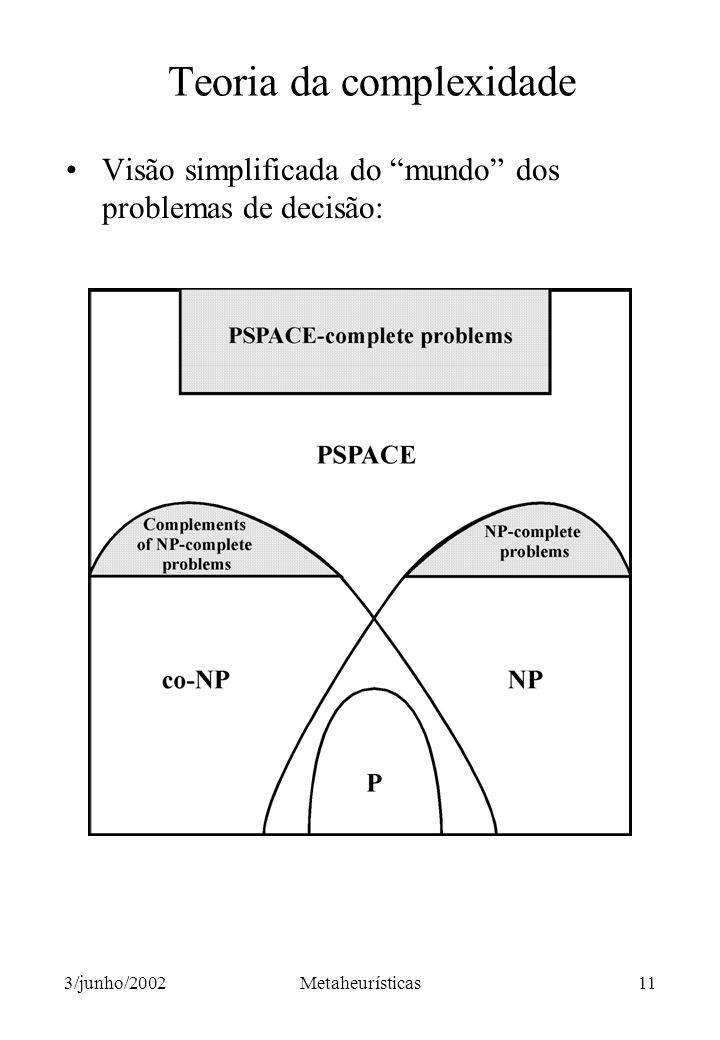 Teoria da complexidade