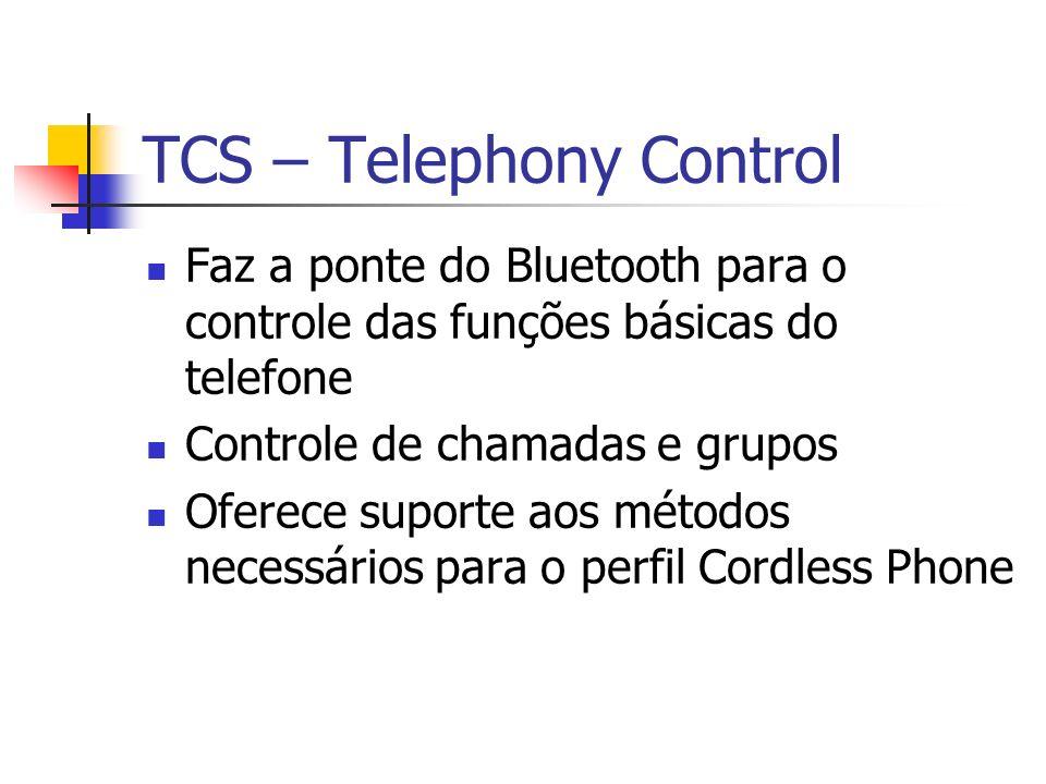 TCS – Telephony Control