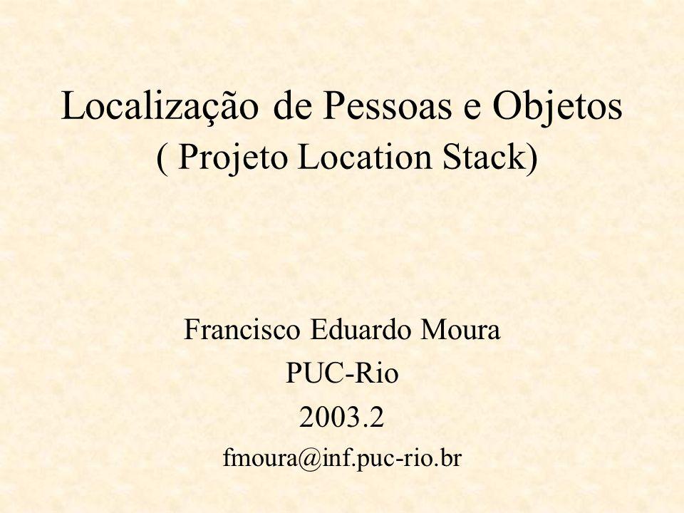 Localização de Pessoas e Objetos ( Projeto Location Stack)