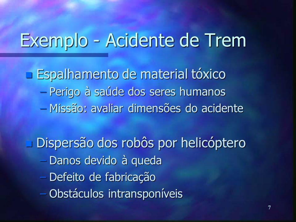 Exemplo - Acidente de Trem