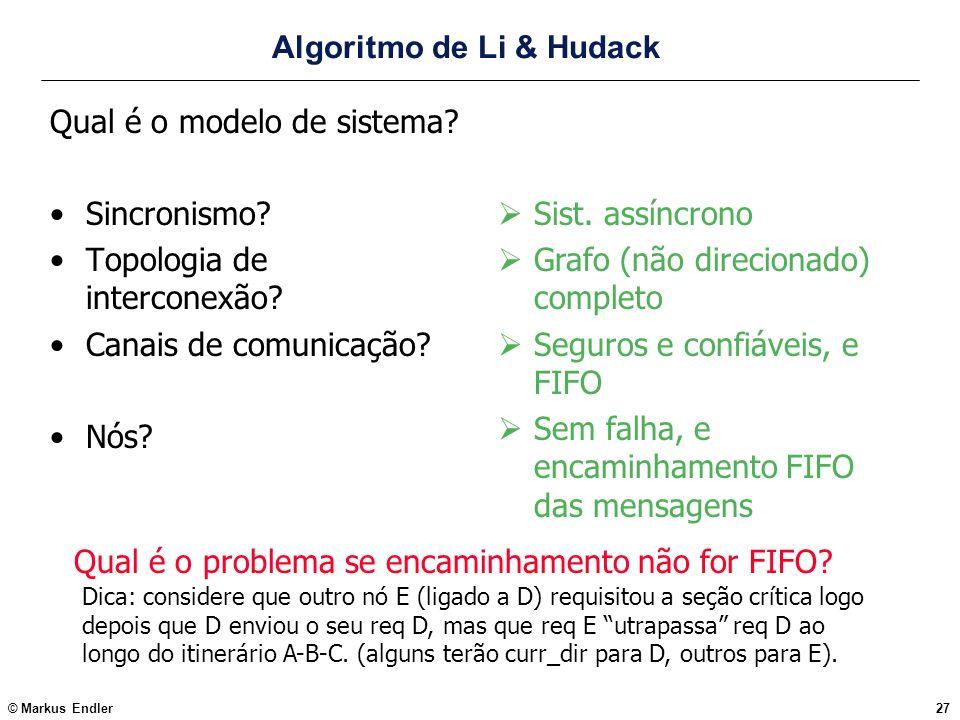 Algoritmo de Li & Hudack