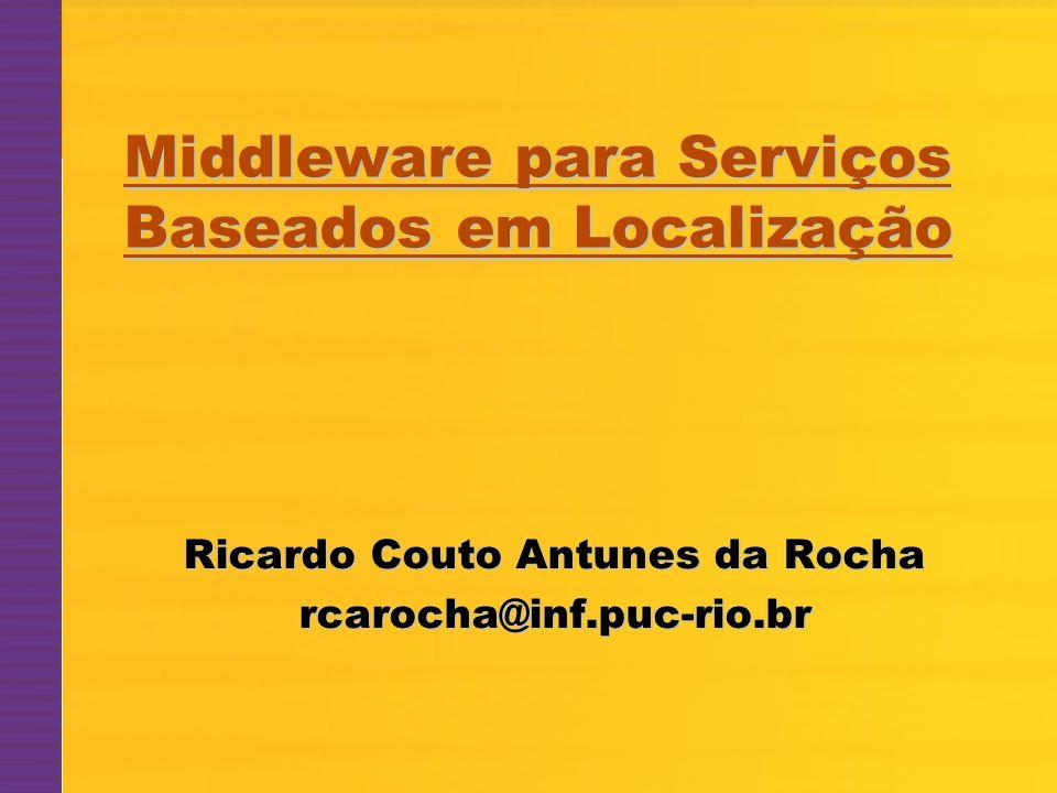 Middleware para Serviços Baseados em Localização