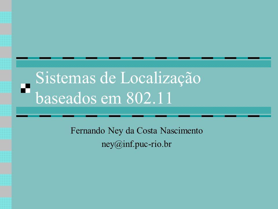 Sistemas de Localização baseados em 802.11