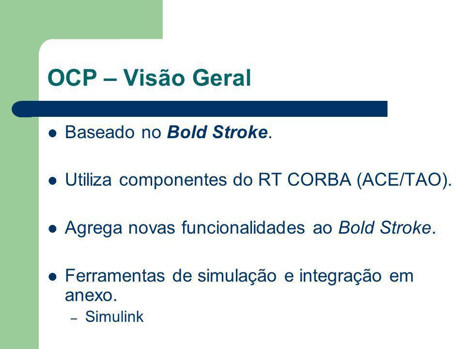 OCP – Visão Geral Baseado no Bold Stroke.