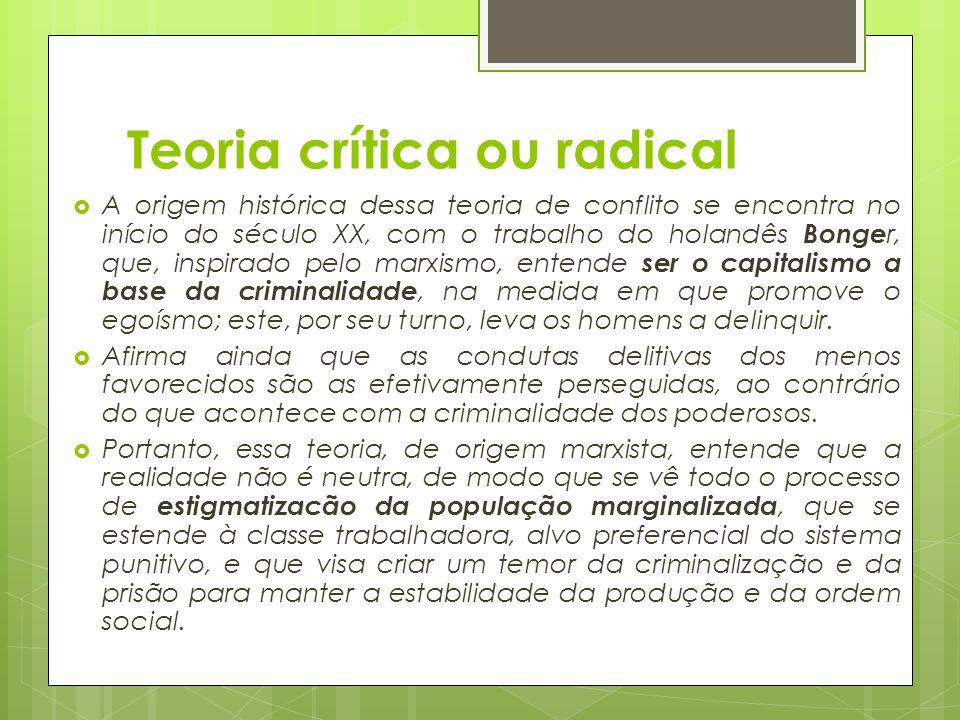 Teoria crítica ou radical