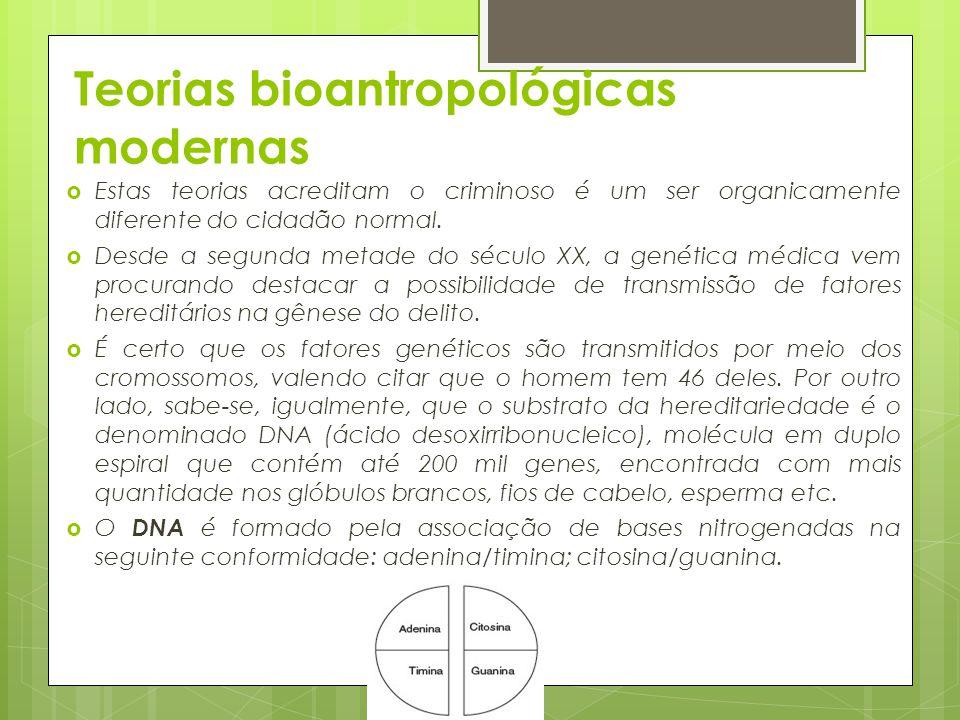 Teorias bioantropológicas modernas