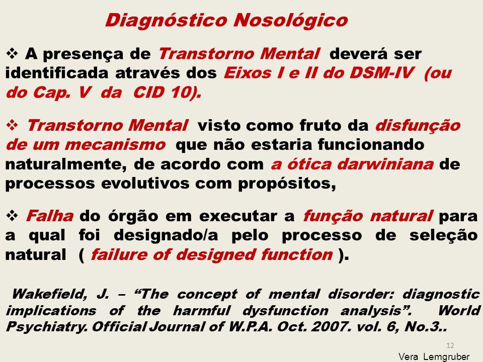 Diagnóstico Nosológico