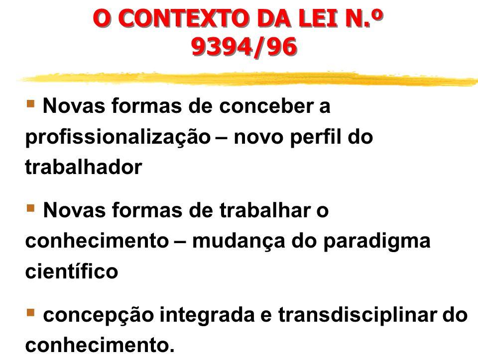 concepção integrada e transdisciplinar do conhecimento.