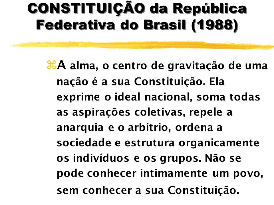 CONSTITUIÇÃO da República Federativa do Brasil (1988)