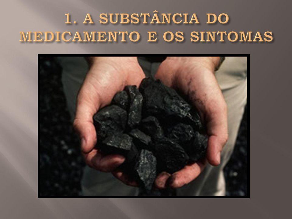 1. A SUBSTÂNCIA DO MEDICAMENTO E OS SINTOMAS