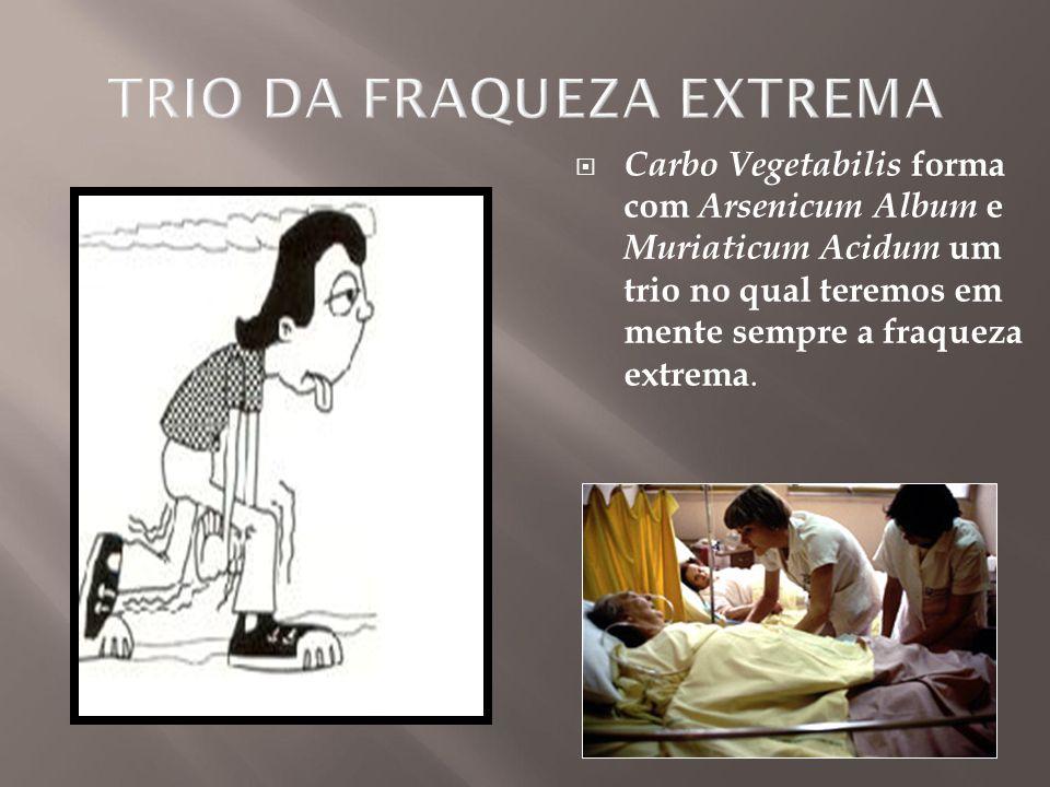 TRIO DA FRAQUEZA EXTREMA
